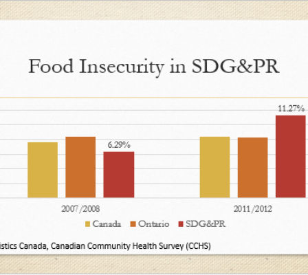 Canadian Community Health Survey Food Insecurity